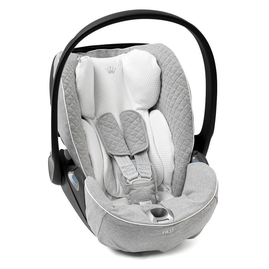 hoes autostoel Cloud Z - Endless Grey Soft-1