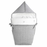 thumb-voetenzak voor autostoel - Endless Grey-1