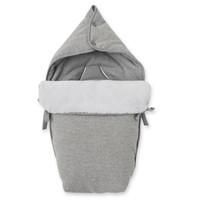 thumb-voetenzak autostoel flanel - Endless Grey-1