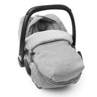 thumb-voetenzak autostoel flanel - Endless Grey-2