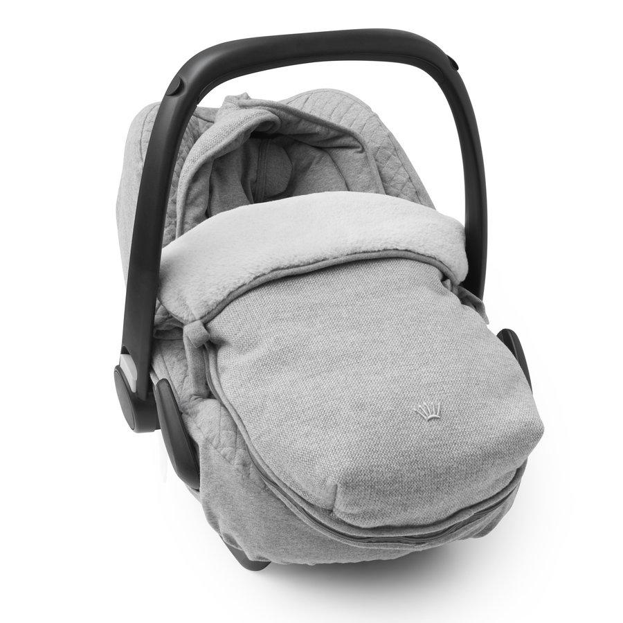 voetenzak autostoel flanel - Endless Grey-2