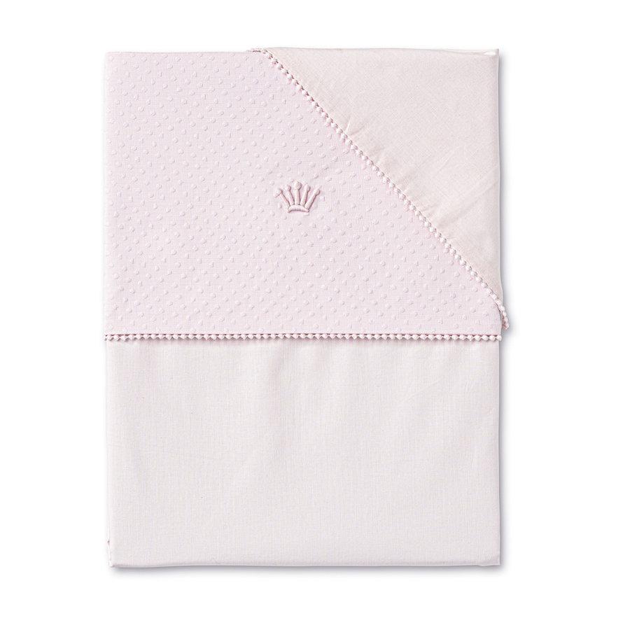 dekbedovertrek wieg - Pretty Pink-1