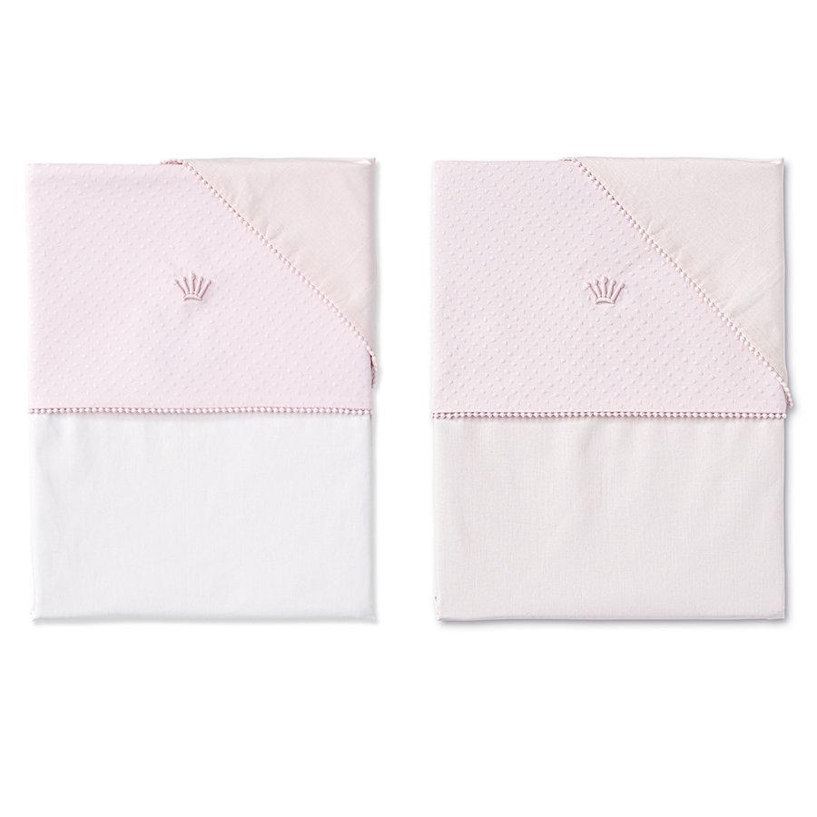 dekbedovertrek wieg - Pretty Pink-3