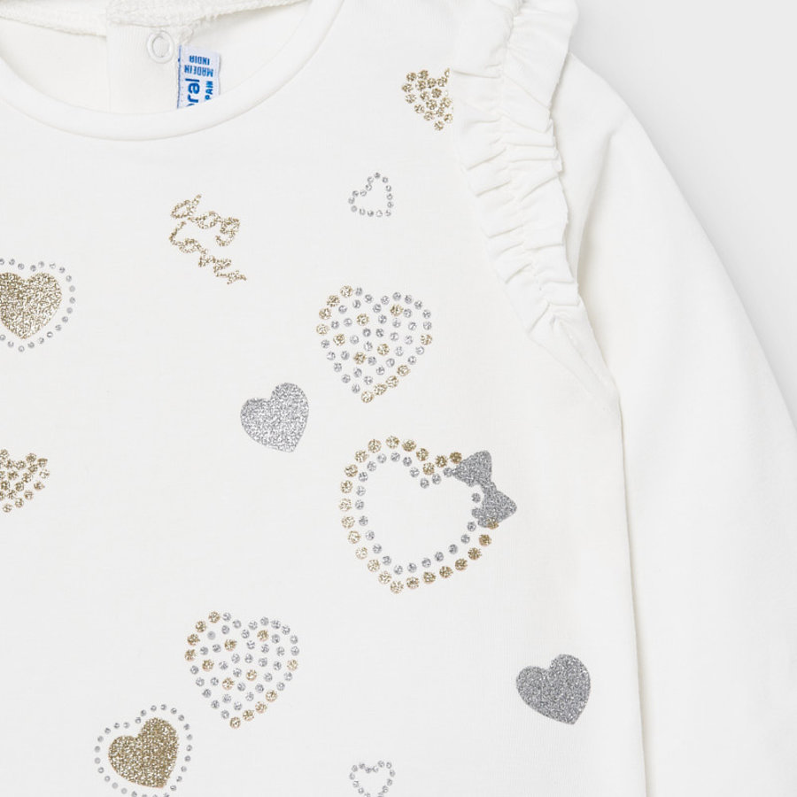 t-shirt met glitters - offwhite-2