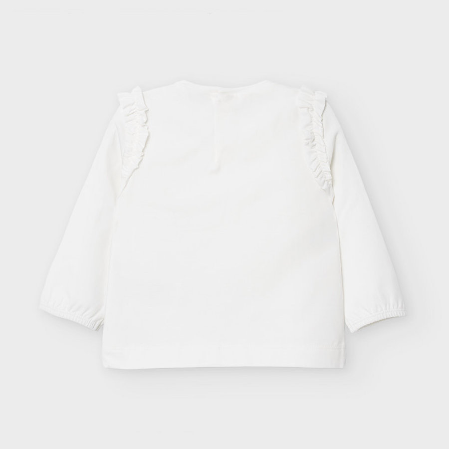 t-shirt met glitters - offwhite-3
