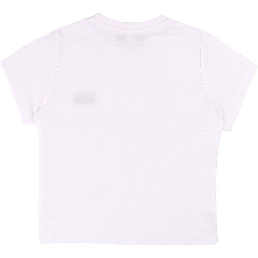 t-shirt met logo boss - wit-2