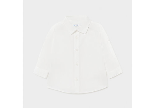 Mayoral linnen overhemd - wit