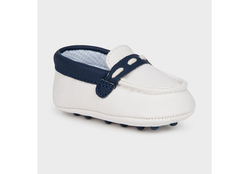 Mayoral baby moccasin - wit