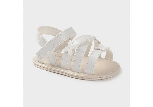 Mayoral baby sandalen vlinder - wit
