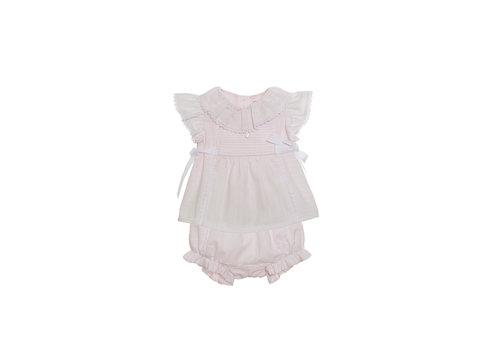 Patachou set van blouse met broekje - roze