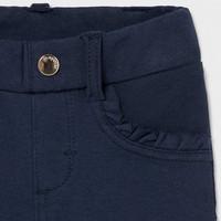 thumb-stretch broekje met ruches - blauw-3