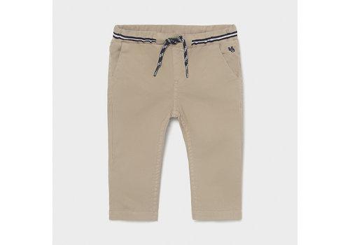 Mayoral pantalon elastieken band - beige