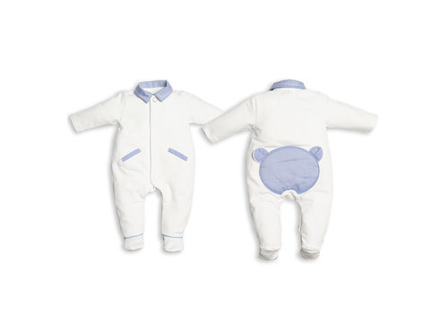 First - My First Collection boxpak met teddy - wit/blauw