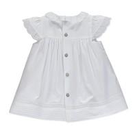 thumb-jurkje met broekje katoen met borduur - wit-2