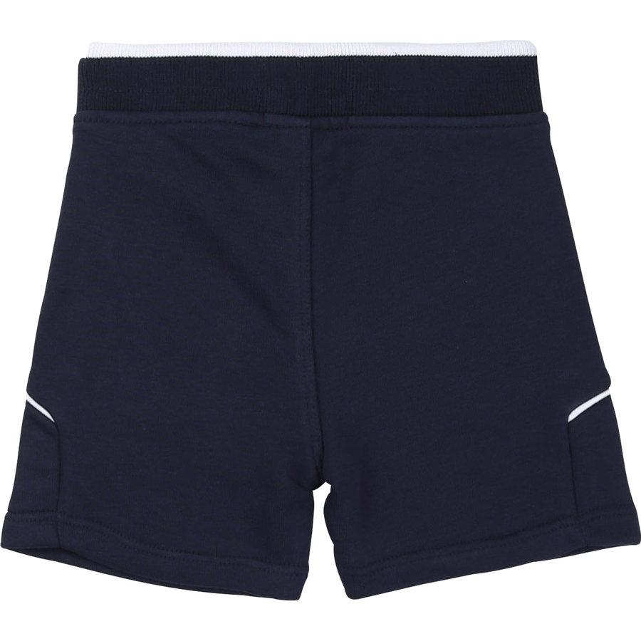 joggingbroekje kort - blauw-2