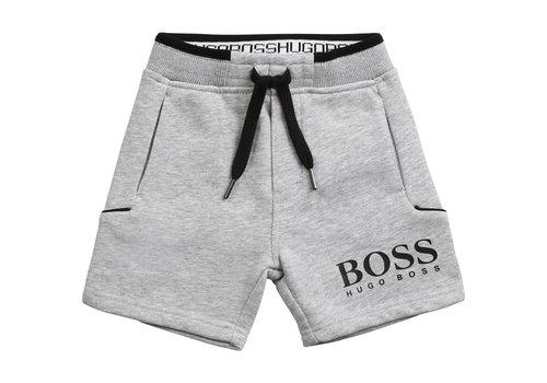 Hugo Boss joggingbroekje kort - grijs