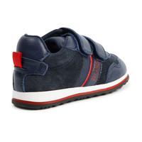 thumb-sneaker leer/suede boss - blauw-2