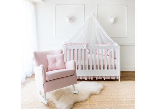 Théophile & Patachou Rocking Chair linnen - roze
