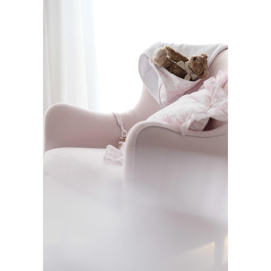 Rocking Chair Linnen - Roze-5