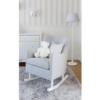 thumb-Rocking Chair Linnen - Grijs-4