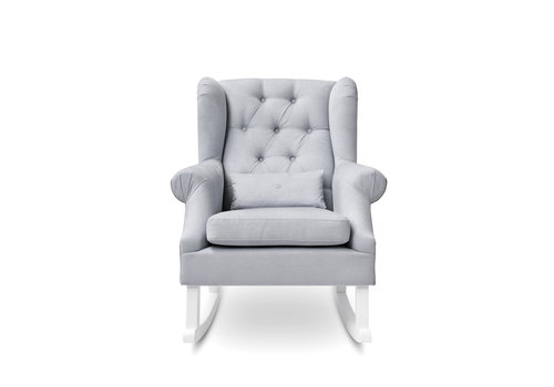 First - My First Collection schommelstoel Nino - grijs