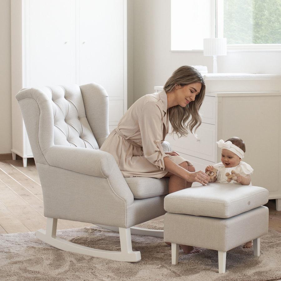 schommelstoel Nino - beige-5