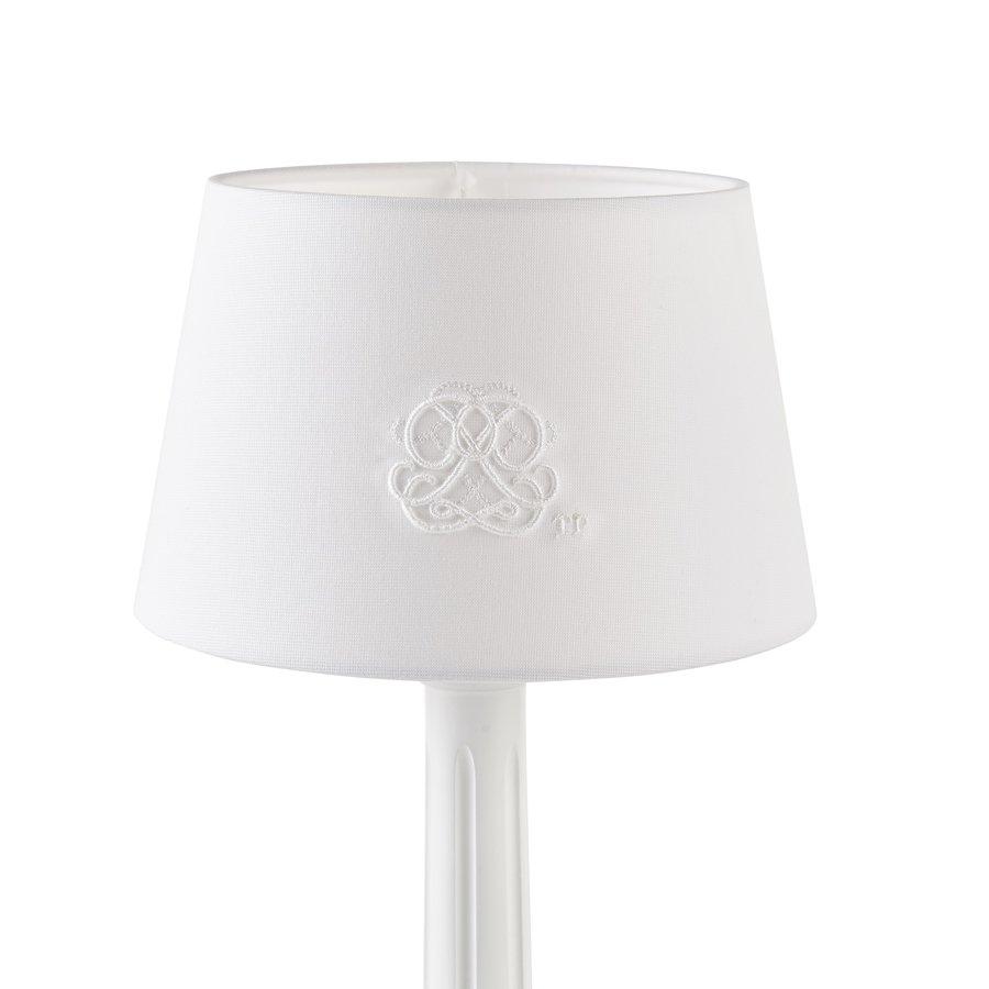 Cotton White kleine lampenkap geborduurd-1