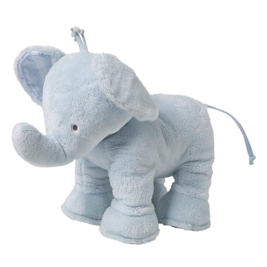olifant 25cm - blauw-2