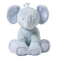 thumb-olifant 25cm - blauw-1