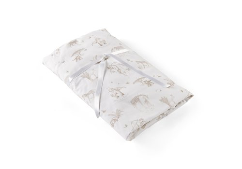 Théophile & Patachou Safari hoeslaken bed - bedrukt - 70x140cm