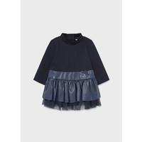 thumb-jurkje met bloem - blauw-1