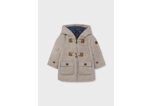 Mayoral gevoerde trench coat - beige