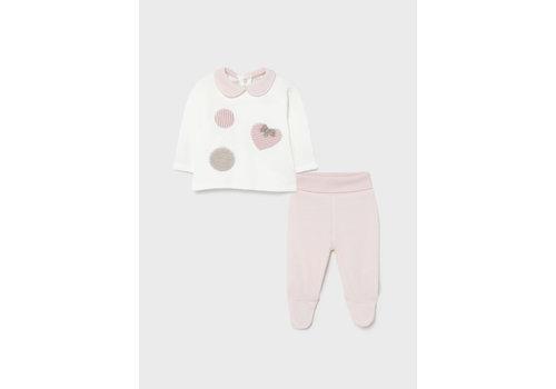 Mayoral set van top en broekje - roze