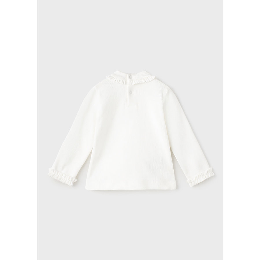 top met ruches - offwhite-2