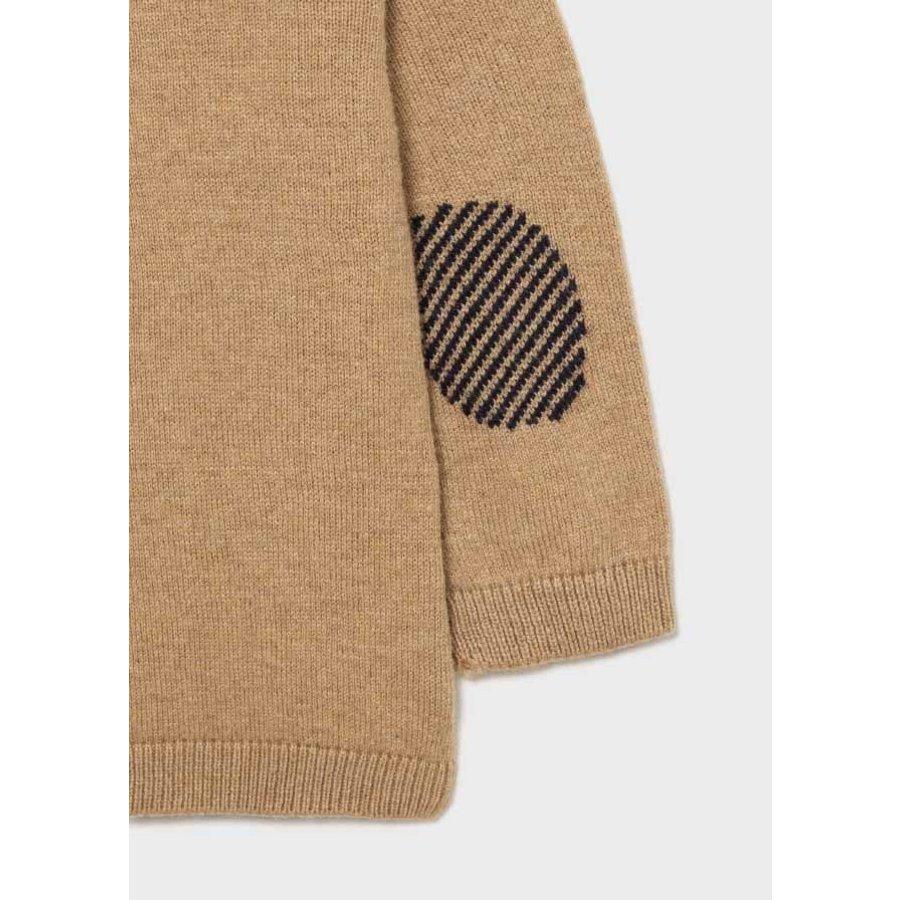 zachte trui met knopen - beige-3