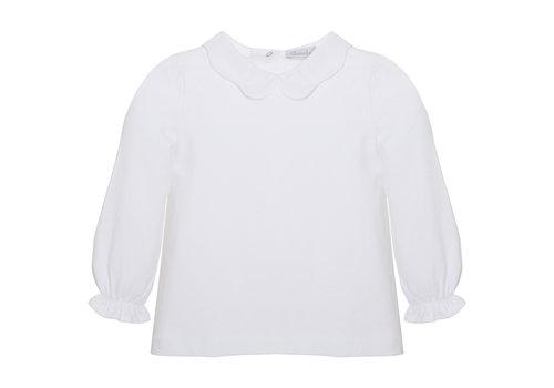 Patachou top met kraagje - wit