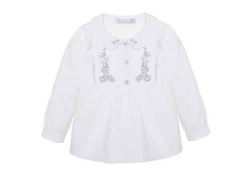 Patachou blouse klassiek met borduur - wit