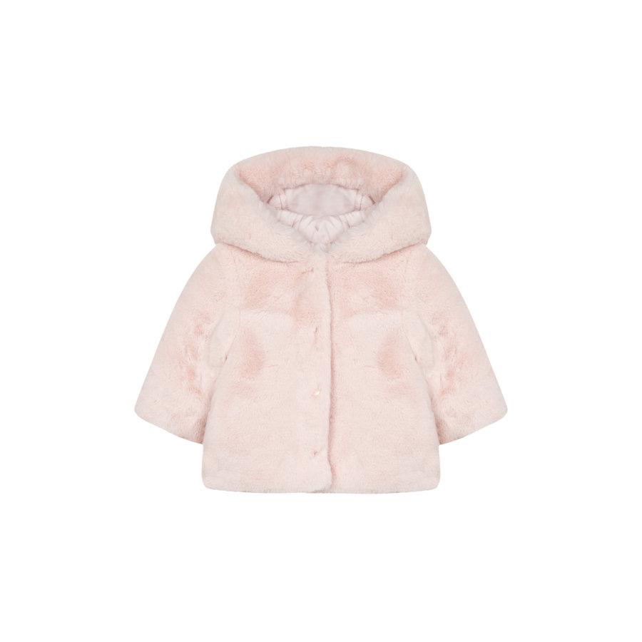 babyjasje omkeerbaar met zachte voering - roze-2