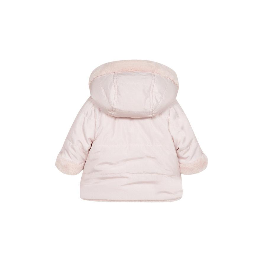 babyjasje omkeerbaar met zachte voering - roze-3