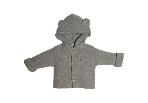 First - My First Collection vestje van wol en cashmere - grijs