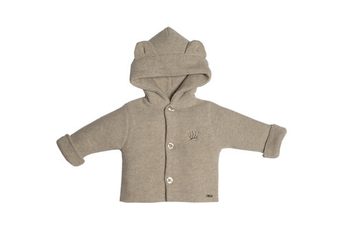 First - My First Collection vestje van wol en cashmere - beige