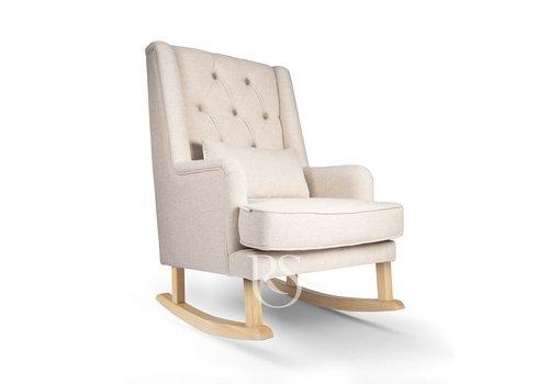 Rocking Seats schommelstoel Royal Rocker - Beige / Natural
