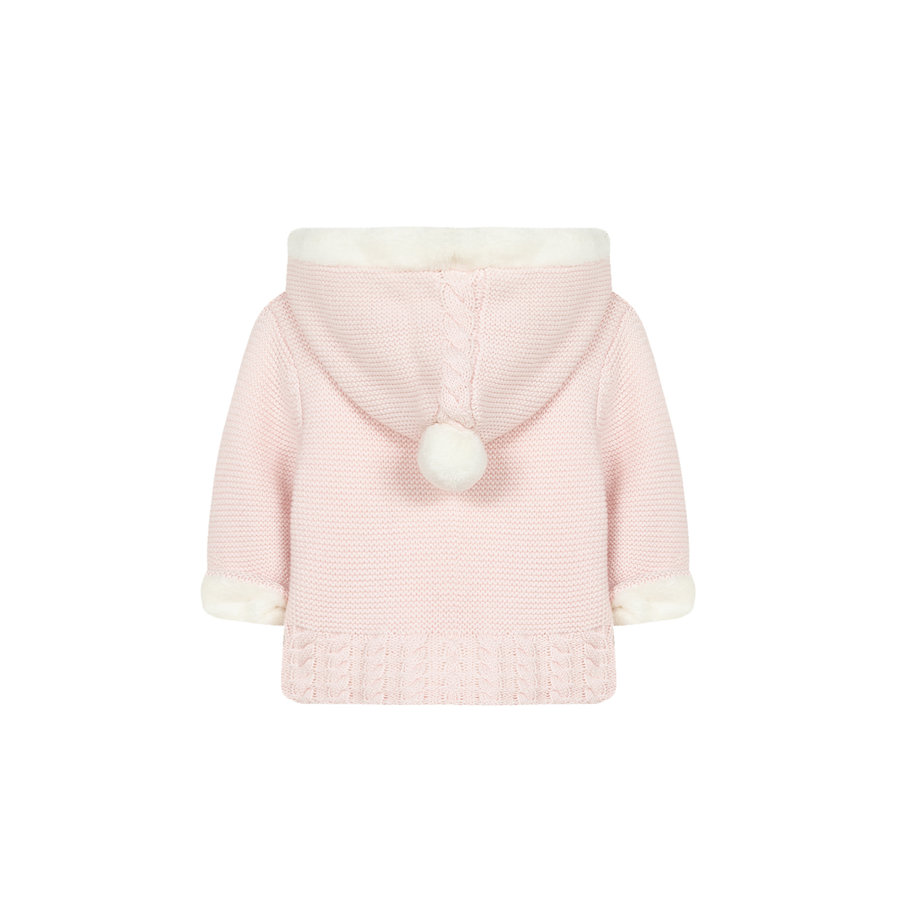 zacht gebreid vestje - roze-2