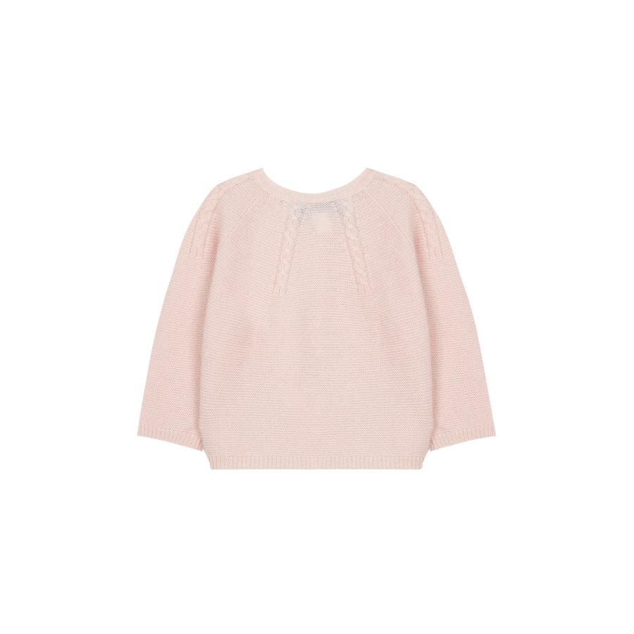 zacht cashmere vestje - roze-3