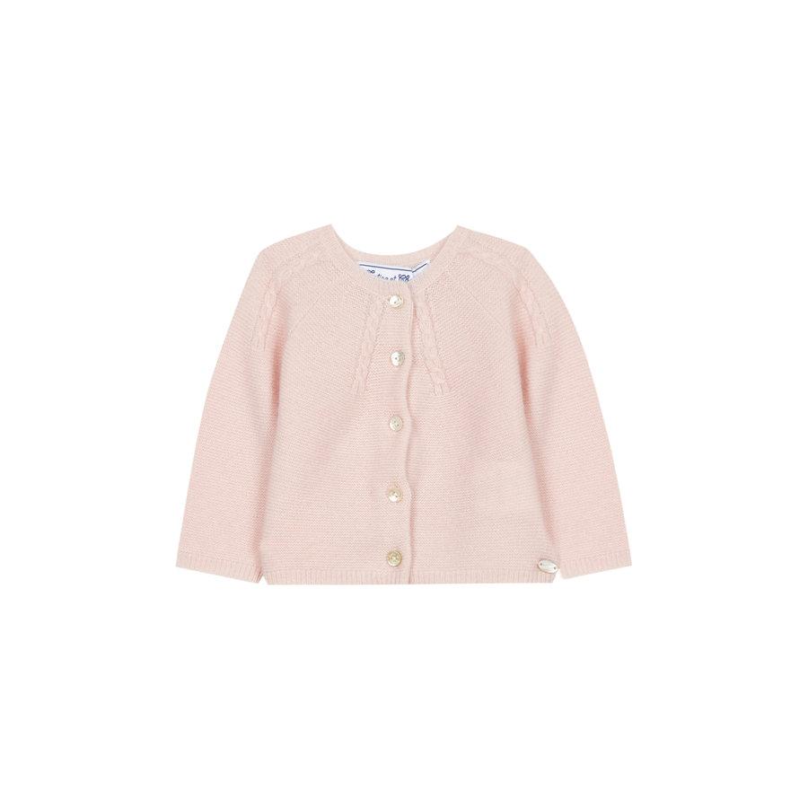 zacht cashmere vestje - roze-1