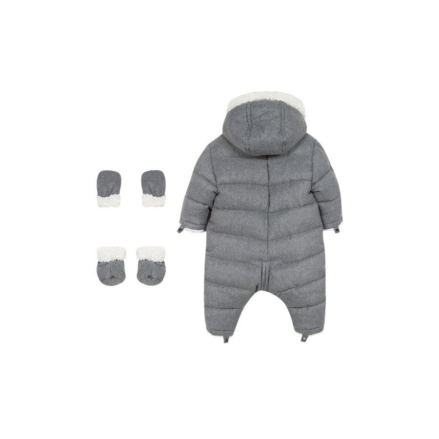 winterpak met teddy voering - grijs-4
