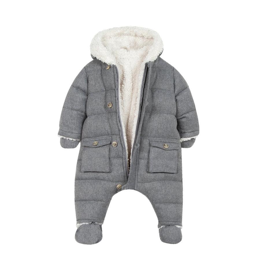 winterpak met teddy voering - grijs-2