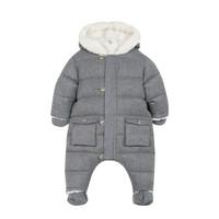 thumb-winterpak met teddy voering - grijs-1