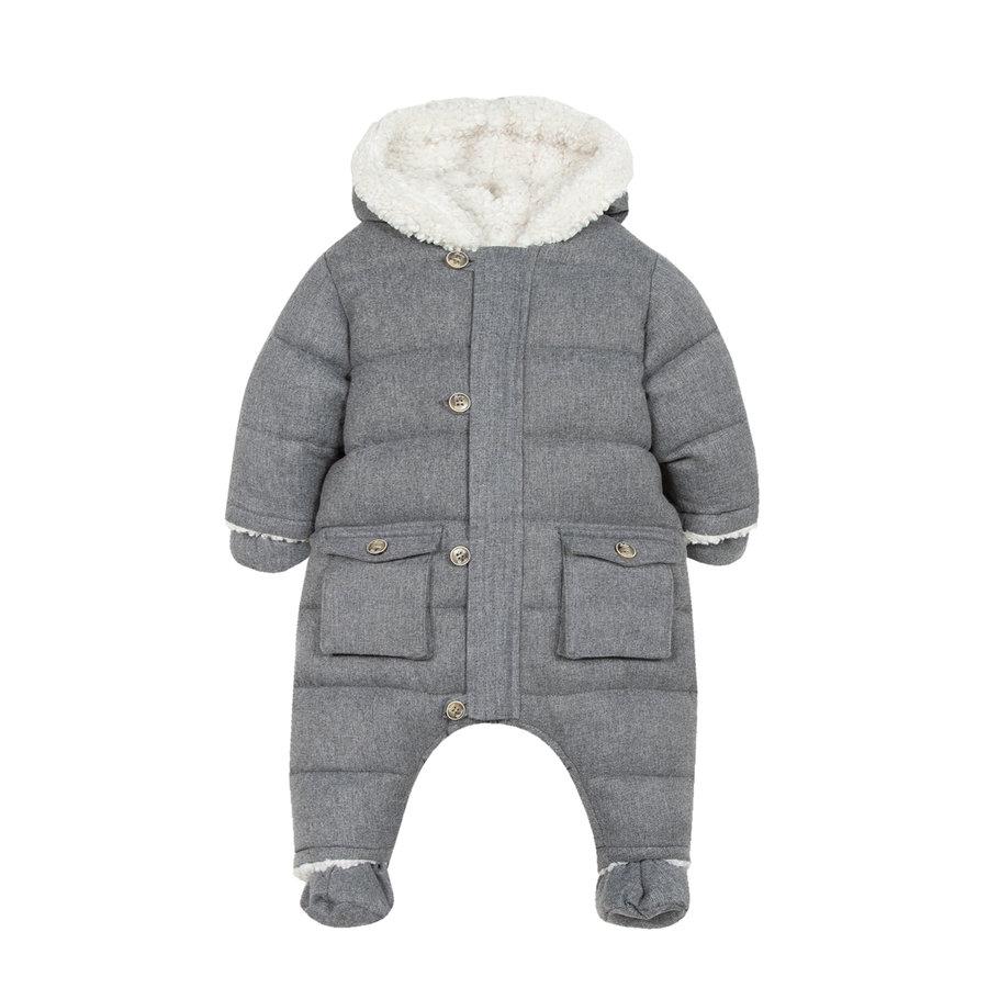 winterpak met teddy voering - grijs-1