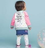 Quapi Quapi Legging Janine 1 off white confetti